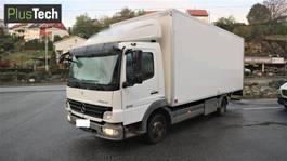 bakwagen vrachtwagen Mercedes-Benz Atego 818 L 2008