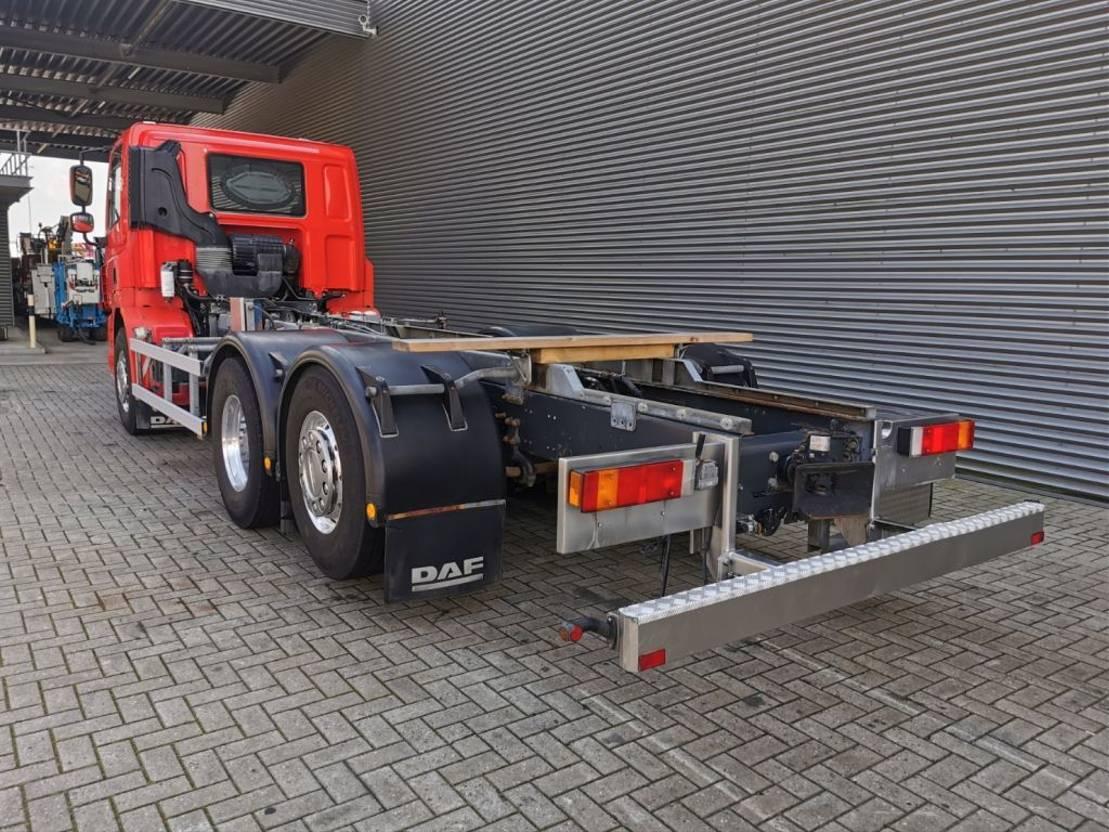 chassis cabine vrachtwagen DAF CF 85 6x2 Euro 5 Retarder PTO Chassis Cabin! 2012