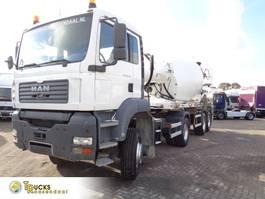 tankwagen vrachtwagen MAN TGA 18 + Combi Mixer Muller + 4x4 2005
