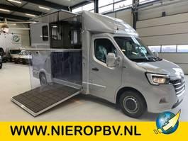 paardenbakwagen Renault 2.3DCI Nieuw Paardenwagen Hengsten-Opbouw Airco Navi Camera Bomvolle auto zie omschrijving ! 2021