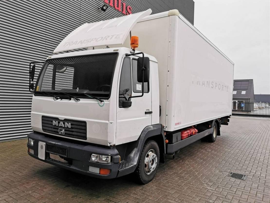 chassis cabine vrachtwagen MAN 12.220 4x2 1500 kg Tailgate Euro 3 6 Cilinder! 2001