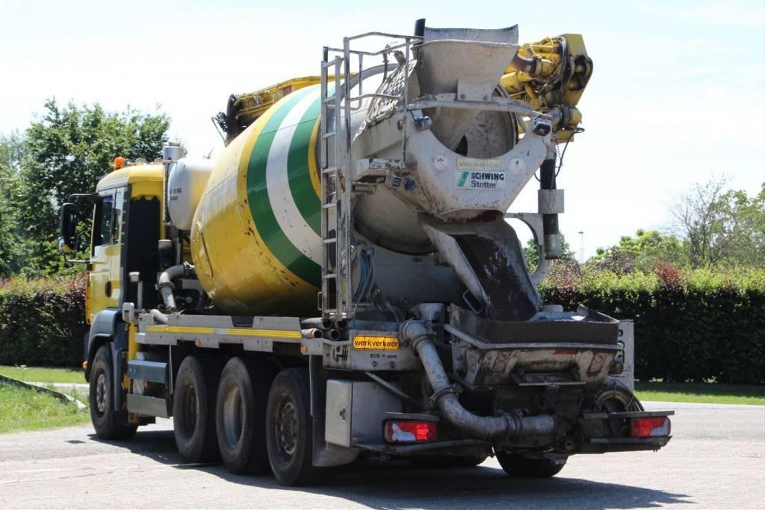 betonpomp vrachtwagen MAN TGA 35/400 !!PUMI 21m !!MIXER!!TOP!!8x4!! 2008