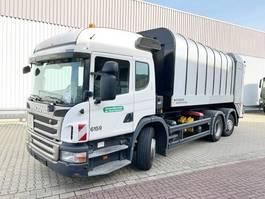 vuilkar camion Scania P320 6x2 P320 6x2, Lenkachse, FAUN Rotopress 521 2012