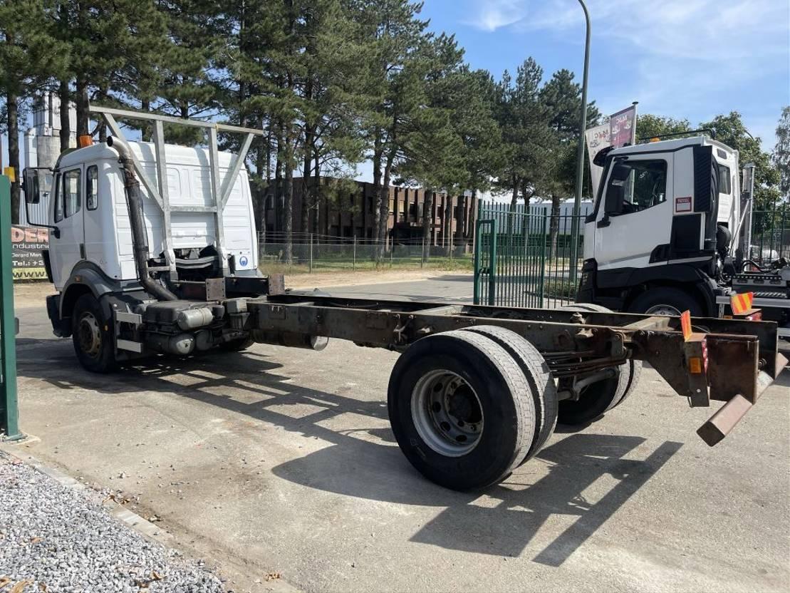 chassis cabine vrachtwagen Mercedes-Benz SK 1924 V6 - STEEL SPRING / BLATT / LAMES - MANUAL GEARBOX - CHASSIS CABINE 6m50 - NICE TRUCK 1994
