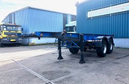 container chassis oplegger Van Hool S 223 2-AXLE FULL STEEL 20FT CONTAINER TRAILER (FULL STEEL SUSPENSION) 1991