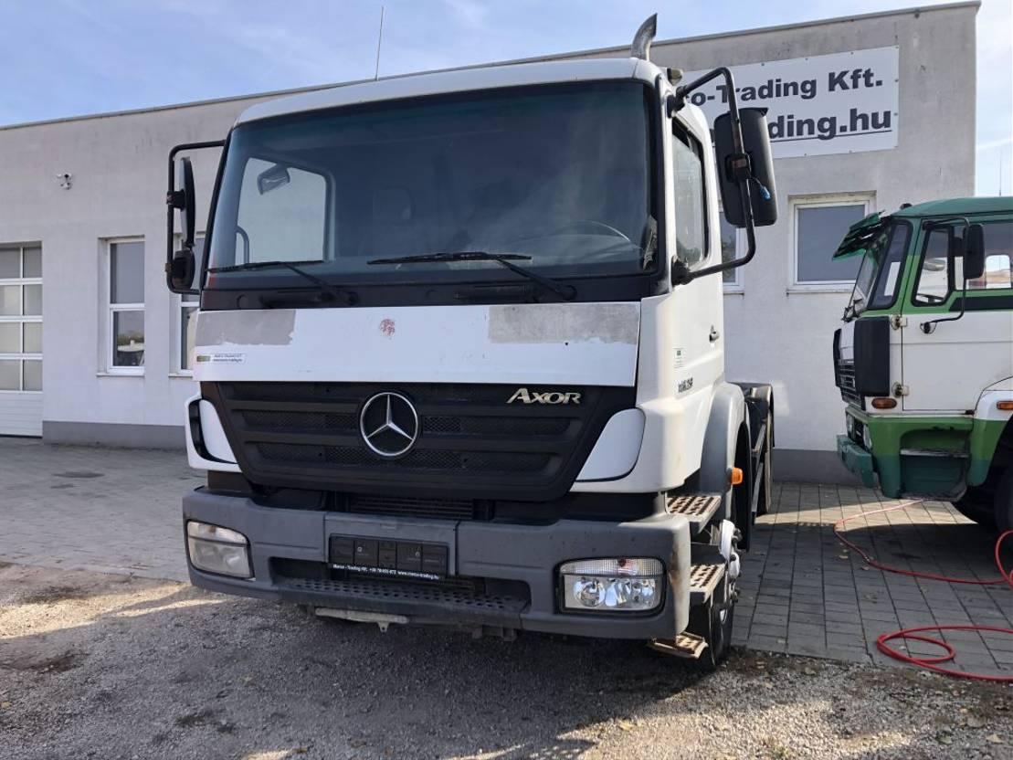 chassis cabine vrachtwagen Mercedes-Benz Axor 1823 - Full steelsus. - Manual 2005