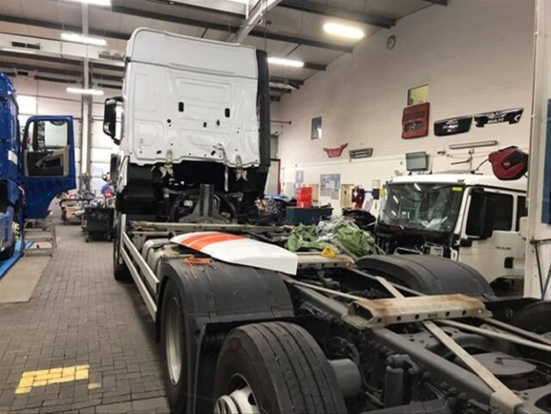 chassis cabine vrachtwagen Mercedes-Benz Actros 2546 L 6x2 Actros 2546 L 6x2, Retarder, StreamSpace, Multimedia-Cockpit 2021