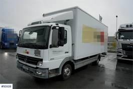 bakwagen vrachtwagen Mercedes-Benz 815 van w/lift LOW KM 2006