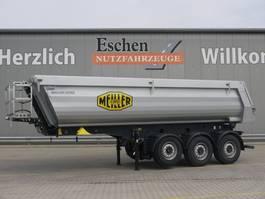 kipper oplegger Meiller MHPS 44.3, 26m³ Stahl, Luft/Lift 2021