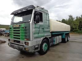 tankwagen vrachtwagen Scania R143 SCANIA 143.500 (6X2) 20.500 LITERS TANK 1993