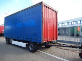 schuifzeil aanhanger Krone AZ 2 As Vrachtwagen Aanhangwagen Schuifzeil, WZ-GX-50 2007