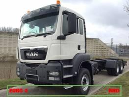 chassis cabine vrachtwagen MAN TGS 33 6x4 BB WW RHD EURO4 2021