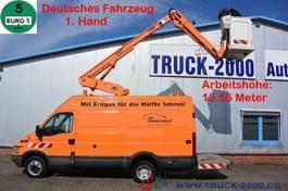 hoogwerker bedrijfswagen Iveco 50C11 Ruthmann-Versalift 14m Erdgasantrieb 2008