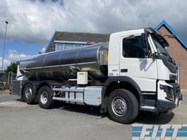 tankwagen vrachtwagen Volvo FMX 460 FMX460-6X2 HYDRODRIVE 16000L RVS ISO tank. 2 comp 2015