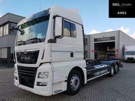 wissellaadbaksysteem vrachtwagen MAN TGX 26 .460 6X2 LL / Intarder 2018