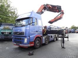 zware last trekker Volvo FH 12 500 8X4 Kran Palfinger 90 T/M 2004