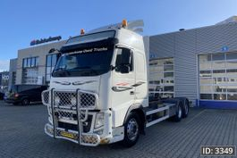 chassis cabine vrachtwagen Volvo FH 13 Globetrotter, Euro 5, // Steel - Air // Automatic // 6x2 2010