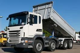 kipper vrachtwagen Scania G420 Kipper 8x4 Retarder Scheckheft Kamera E5 2012