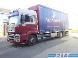 schuifzeil vrachtwagen MAN TGA 18 .310 schuifzeilen en klep 2002