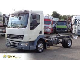 chassis cabine vrachtwagen DAF LF 45 180 + blad-blad + Airco 2006