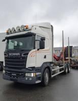 houttransporter vrachtwagen Scania R500 V8 6X4, + Epsilon M110L80, 2016 *incoming* 2013