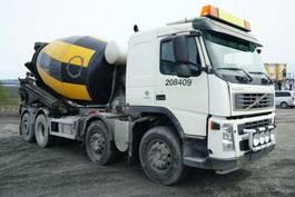 betonmixer vrachtwagen Volvo FM 380 8x2*4, Euro 5, Mixer 9m3, 2006, *incoming* 2006