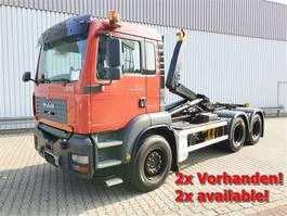 containersysteem vrachtwagen MAN TGA 26 6x4 BB TGA 26.350 6x4 BB, EX-Feuerwehr, NUR 27.000KM! 2005