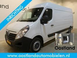 gesloten bestelwagen Opel 2.3 CDTI L3H2 130 PK Servicebus / Sortimo Inrichting / Airco / Navigatie... 2017