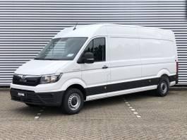 gesloten bestelwagen MAN 3-100 op voorraad binnen lang hoog 2021