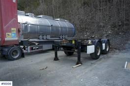overige opleggers Krone 2 aks Container trailer 2010