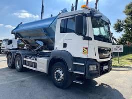 driezijdige kipper vrachtwagen MAN TGS 33 6x4 BORDMATIC - MANUAL ZF + RETARDER - 258.000km - EURO 6 2016