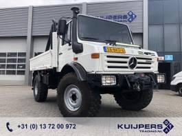 platform vrachtwagen Unimog U1300 L Mercedes / 4x4 / 33 dkm / Warn Winch 5443 kg / Top Condition !! 1987
