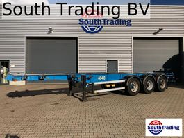 container chassis oplegger Burg 20/30FT ADR 1996