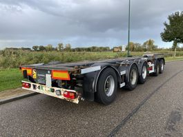 container chassis oplegger D-TEC 5-Axle Chassis / 3x Liftaxle / BPW / Multi Chassis 2004
