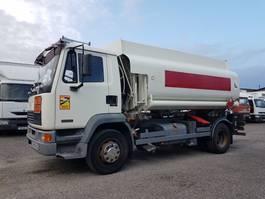 tankwagen vrachtwagen DAF FA 55 .210 ATI euro 2 - FUEL STEEL TANK 10000 liters 2000