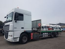 chassis cabine vrachtwagen DAF XF 105 6x2 - CHASIS FOR CRANE 2012