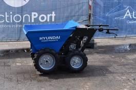 mini dumper wiel Hyundai Benzine 2015