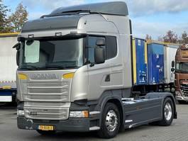 standaard trekker Scania R410 EURO 6 RETARDER FULL SPOILER 2015