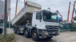 kipper vrachtwagen Mercedes-Benz Actros 3241 8x4  2-WAY TIPPER - BORDMATIC - EURO 5 - BACHE 2013