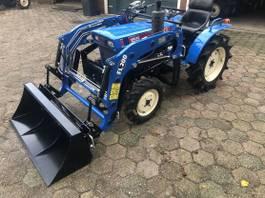 standaard tractor landbouw Iseki Tx155 met voorlader