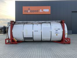 tankcontainer 20FT, swapbody, 24.940L TC, 1 comp., UNPORTABLE, T7, valid 2,5y insp. until 08/2022 1998