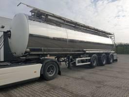 tankoplegger Magyar 41m3 levensmiddelen tank met CIP leiding 2012