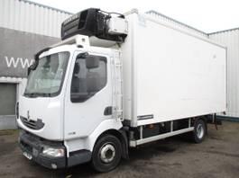 koelwagen vrachtwagen Renault Midlum 180 DXi, Reefertruck , Airco 2011