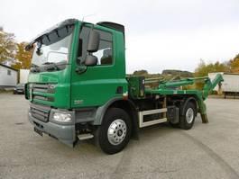 containersysteem vrachtwagen DAF CF 75 Absetzer Euro 5 Retarder Meiller AK12T 2011