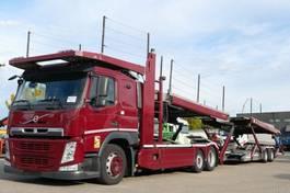 autotransporter vrachtwagen Volvo FM 420 Autotransport Kässbohrer-Metago/Supertran 2014