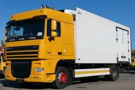 koelwagen vrachtwagen DAF XF 105 Kühlkoffer ZF-Intarder LBW Kamera E5 2007