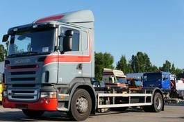wissellaadbaksysteem vrachtwagen Scania R420 BDF Retarder analog leichter Getriebeschad 2007