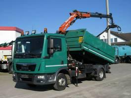 kipper bedrijfswagen <3.5 t MAN TGL 8 2-Achs Kipper Kran Greiferst. 2016