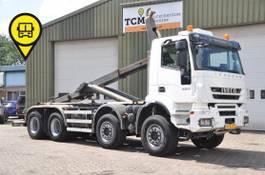 containersysteem vrachtwagen Iveco Trakker 450 .EEV .8X4 FULL STEEL 2013