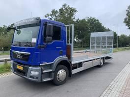autotransporter vrachtwagen MAN TGM12-250 MACHINE TRANSPORT 2013